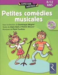 Petites comédies musicales : 8-12 ans