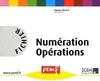 Fichier numération opérations : cycle 2, niveau 4 CE1