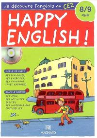 Je découvre l'anglais au CE2, 8-9 ans