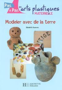 Modeler avec de la terre : maternelle