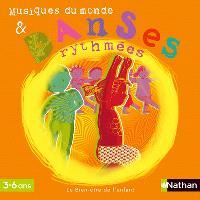 Musique du monde et danses rythmées (3-6 ans)
