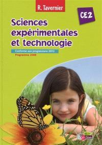 Sciences expérimentales et technologie, CE2 : conforme aux progessions 2012, programme 2008