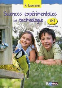 Sciences expérimentales et technologie, CM1 cycle 3