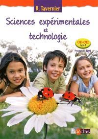 Sciences expérimentales et technologie, CM1-CM2, cycle 3 : manuel de l'élève