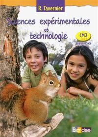 Sciences expérimentales et technologie, CM2 cycle 3