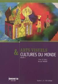 Arts visuels & cultures du monde : cycles 1, 2, 3 et collège. Volume 1, Habiter, manger, s'habiller, se parer, naître, grandir, mourir