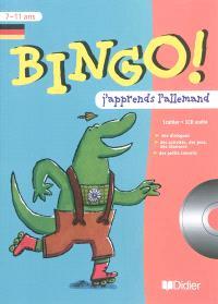 Bingo ! : j'apprends l'allemand : 7-11 ans