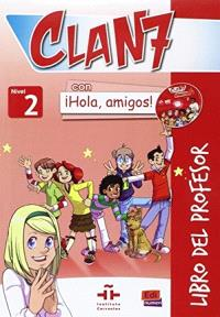 Clan 7, nivel 2 : libro del professor