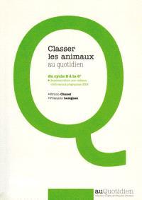 Classer les animaux au quotidien : du cycle 2 à la 6e
