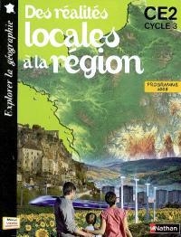 Des réalités locales à la région, CE2 cycle 3 : programme 2008