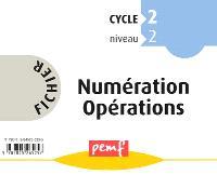 Fichier numération opérations : cycle 2, niveau 2 CP