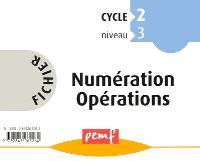Fichier numération opérations : cycle 2, niveau 3 CP