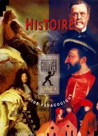 Histoire, cycle 3 : guide pédagogique