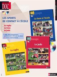 Les sports de contact à l'école