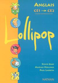 Lollipop anglais CE1-CE2