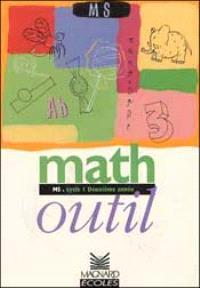 Math outil maternelle moyenne section : cycle 1 deuxième année