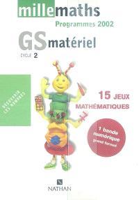 Millemaths, GS : boite d'activité 1, numération