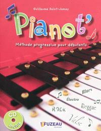 Pianot' : méthode progressive pour débutants