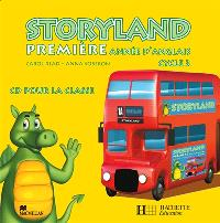 Storyland 1re année d'anglais cycle 3 : CD audio classe