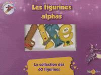 La planète des Alphas, Les figurines alphas : la collection des 60 figurines