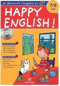 Je découvre l'anglais au CE1, 7-8 ans