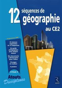 12 séquences de géographie au CE2 : programmes 2008