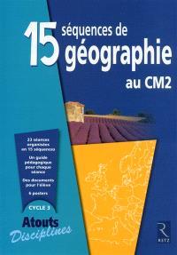 15 séquences de géographie au CM2
