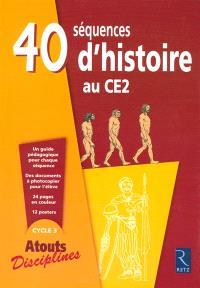 40 séquences d'histoire au CE2
