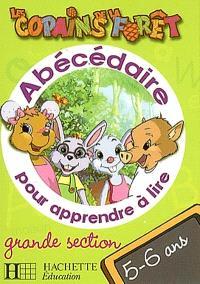 Abécédaire pour apprendre à lire, grande section, 5-6 ans