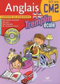 Anglais CM2, 10-11 ans