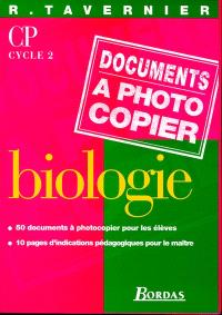 Biologie, documents à photocopier, CP
