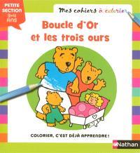 Boucle d'or et les trois ours : petite section