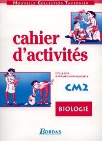 Cahier de biologie, CM2
