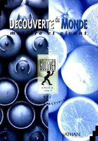 Découverte du monde matière et vivant : cycle 2 niveau 2, cahiers d'activités