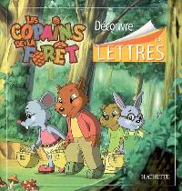 Découvre les lettres : les copains de la forêt