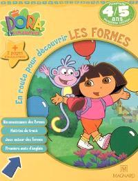 Dora l'exploratrice. Volume 2006, En route pour découvrir les formes, maternelle moyenne section, 4-5 ans