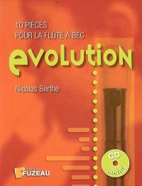 Evolution : 10 pièces pour la flûte à bec