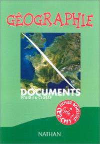 Géographie CE2-CM1, cycle 3 : fichier du maître