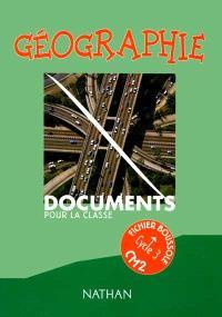 Géographie CM2 : fichier du maître