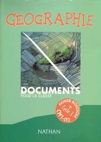 Géographie cycle 3, CM1-CE2