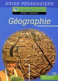 Géographie, CM, cycle 3 niveau 2
