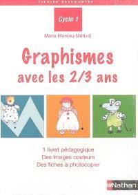 Graphismes avec les 2-3 ans