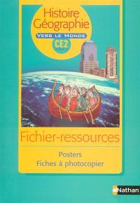 Histoire-géographie CE2 : photofiches avec 16 posters