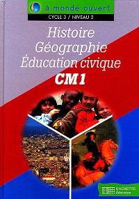 Histoire, géographie, éducation civique, CM1, cycle 3 niveau 2