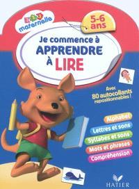 Je commence à apprendre à lire, 5-6 ans