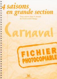 Le carnaval : fichier photocopiable