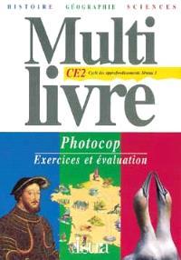 Le Multilivre histoire géographie sciences, CE2 : posters