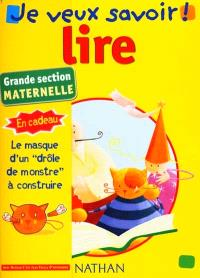 Lire : grande section