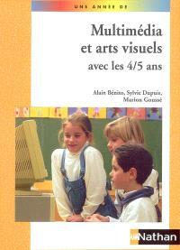 Multimédia et arts visuels avec les 4-5 ans