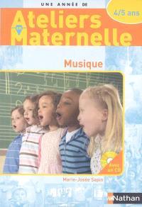 Musique : 4-5 ans
